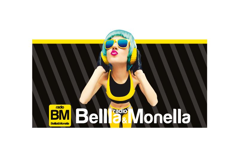 logo radio bella & monella