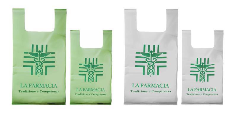 borsette biodegradabili per farmacie