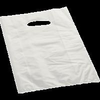 borsetta in carta di colore bianco