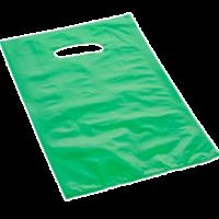 borsetta in plastica di colore verde