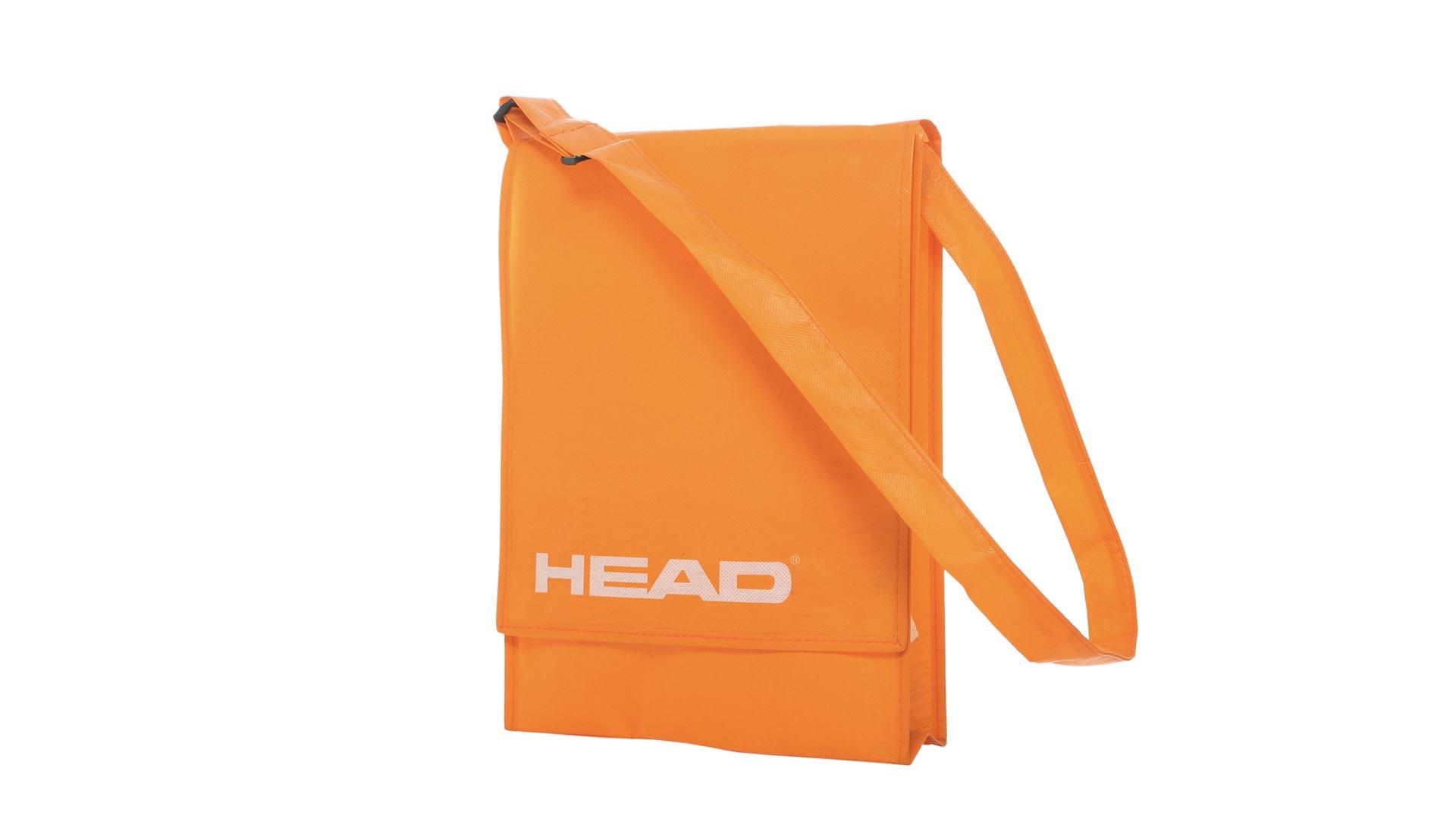 borsetta di colore arancione