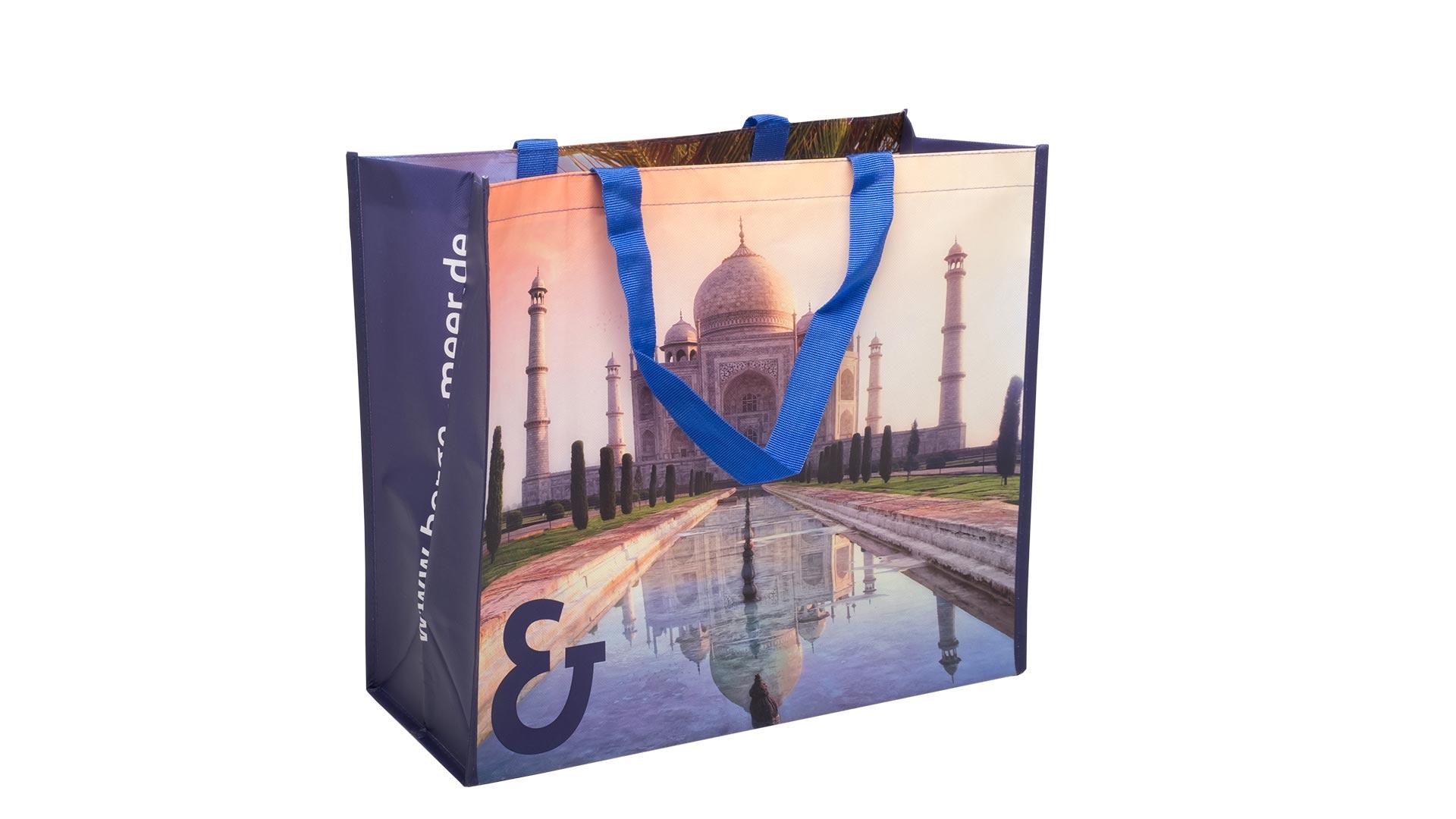 borsetta con foto stampata